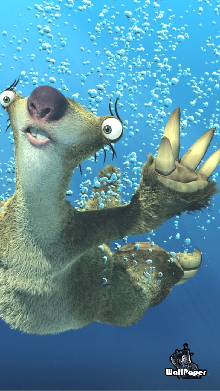 Sid Ice Age iPhone 6 Plus Wallpaper 14252 - Movies iPhone 6 Plus Wallpapers #Ani...