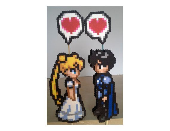 Serenity and Endymion Perler Wedding Cake by ...