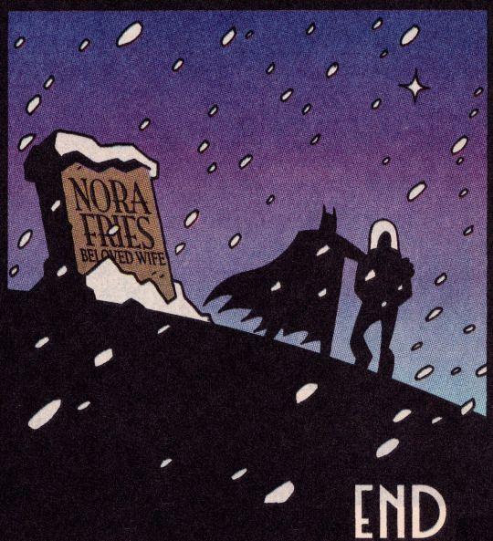 "comicbookvault: "" BATMAN ADVENTURES HOLIDAY SPECIAL #1 (Jan. 1995) ""White Christmas"" Art by Glenn Murakami Words by Paul Dini "" DC Comics"