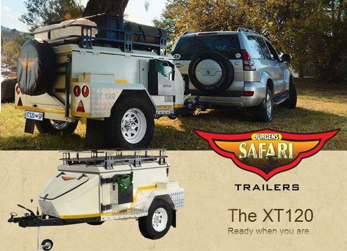 Jurgens XT 120 Off Road Trailer