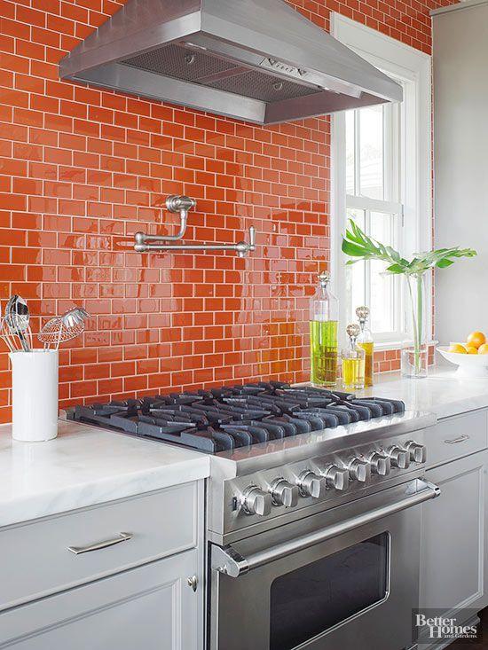 Cuisine orange : 7 cuisines à la déco incroyable et ...
