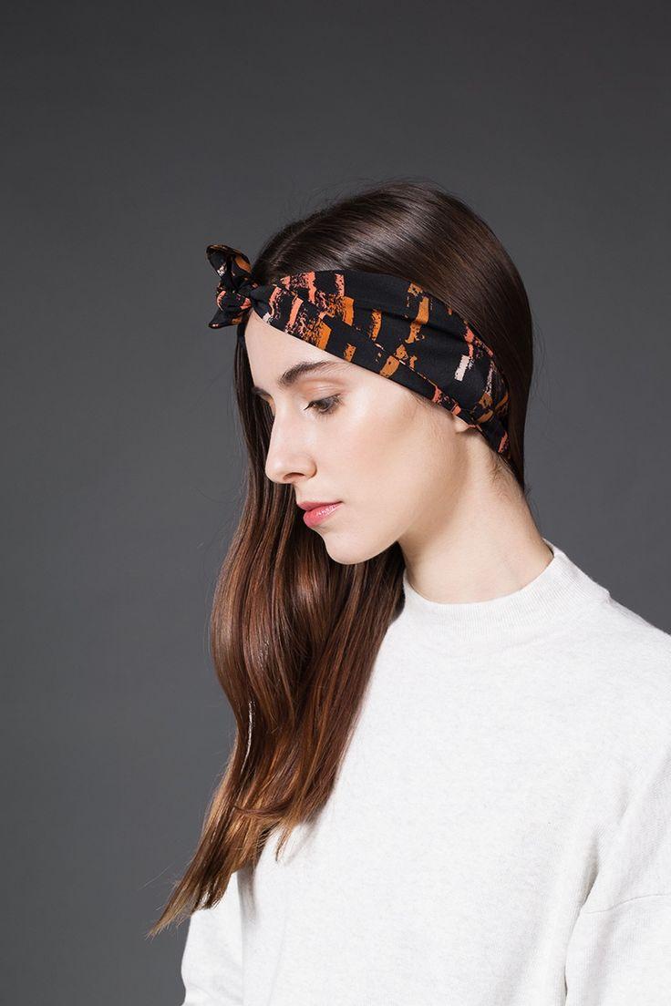 AH/OK - Petra - Silk Headband