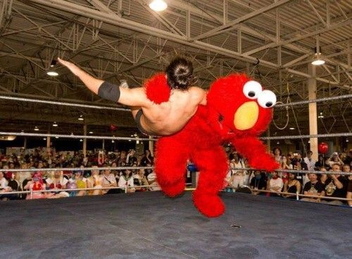 The Daily Scramble | Vol. 126 (39 Pics) - Elmo doesn't play.