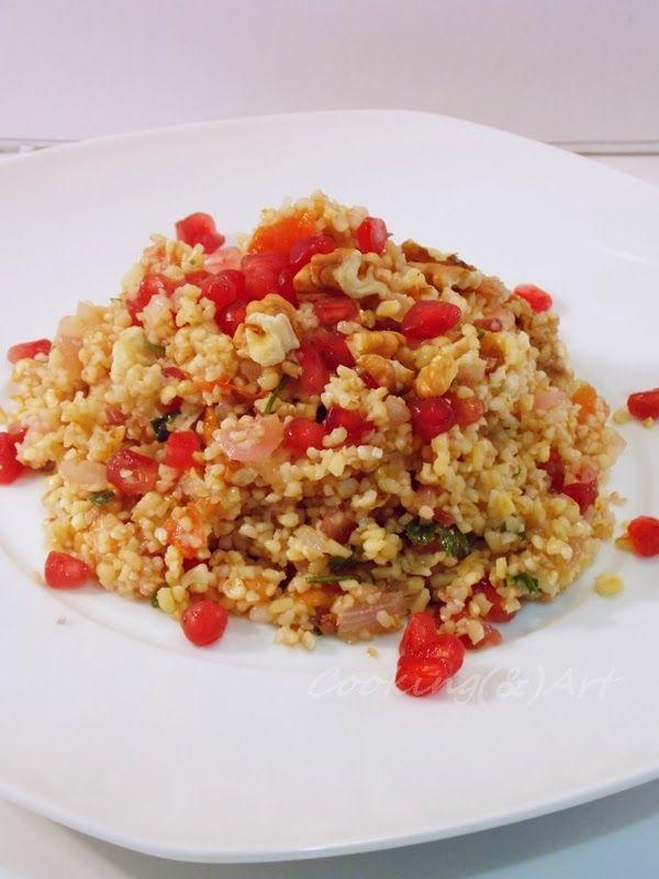 Μαγειρική(&)Τέχνη!: Σαλάτα με πλιγούρι, ρόδι & καρύδια !