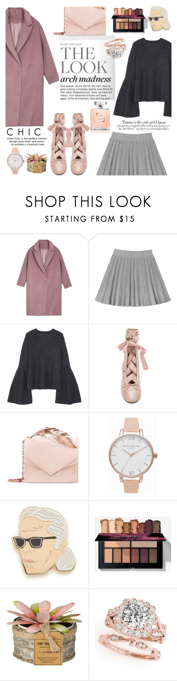 """""""Winter Ballet"""" by shopindigodesign ❤ liked on Polyvore featuring RALPH & RUSSO, Olivia Burton, Georgia Perry, Vanity Fair, topsets, polyvoreeditorial, topset and polyvorefashion"""