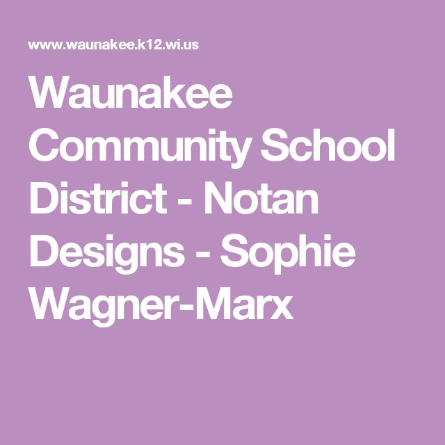 Waunakee Community School District - Notan Designs - Sophie Wagner-Marx
