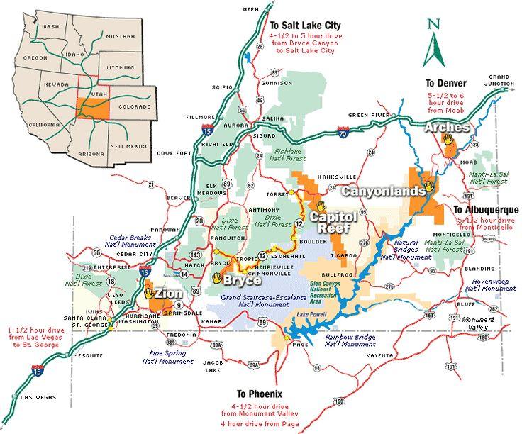 Best 25 National Parks Map Ideas On Pinterest