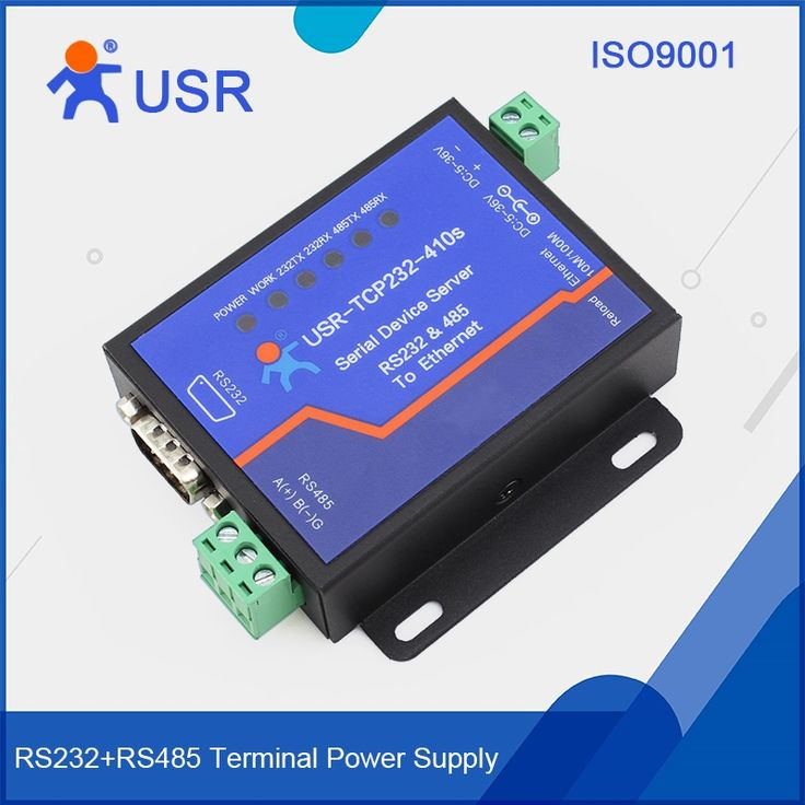 44.23$  Watch now - http://ali3dv.shopchina.info/go.php?t=32708475605 - USR-TCP232-410S Free Ship Serial to Ethernet /TCP IP Converter RS232 RS485 Interface with modbus  #bestbuy