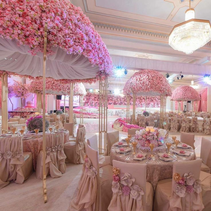 Wedding Halls, Wedding Receptions, Pink Weddings, Indian Weddings, Party  Backdrops, Wedding Arches, Luxury Wedding, Dream Wedding, Wedding  Centerpieces
