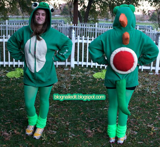 homemade yoshi costume | Nailed It: October 2011