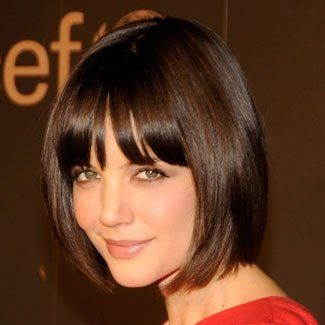Really  Katie Holmes' Bob. Think this might have to happen Thursday