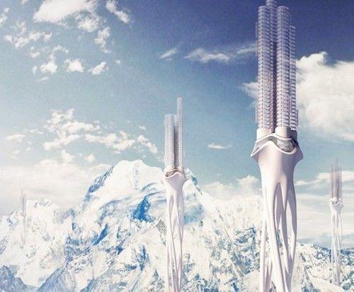 Architettura sostenibile: Himalaya Water Towers, le torri di raccolta d'acqua piovana tra le montagne himalayane
