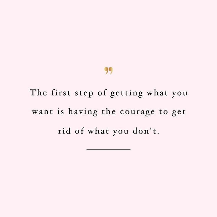 Get rid of what you don't want! Browse our collection of inspirational fitness and wellness quotes and get instant weight loss and healthy lifestyle motivation. Stay focused and get fit, healthy and happy! https://www.spotebi.com/workout-motivation/get-rid-of-what-you-dont-want/