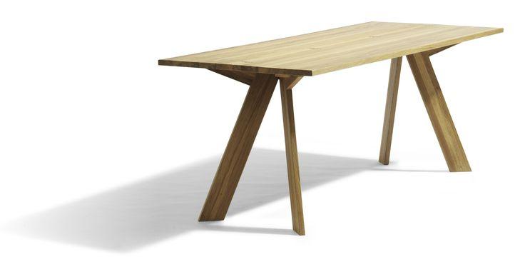 Contemporary folding table - SIMSALABIM by Börge Lindau - Blå Station