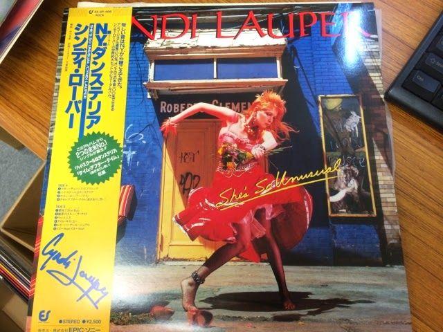 中古レコード店   スノー・レコードのブログ: 富士山を眺めに静岡県富士市ヘ~、夏が似合うシンディ・ローパー「N.Y.ダンステリア」