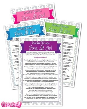 Wedding Shower Pass The Gift Poem : Icebreaker to set the mood? Start with a gift-passing poem that will ...