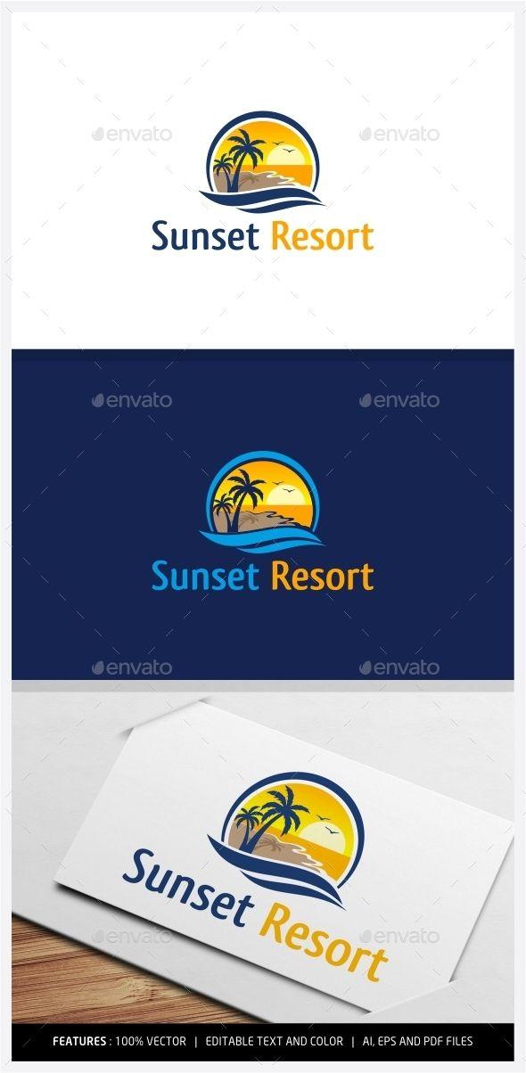 Best 25 Resort Logo Ideas On Pinterest