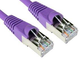 TVCables CAT6A Ethernet Cable 0.5m Violet - Full Copper 0.5m CAT6A SSTP-LSOH Ethernet Cable Snagless Violet http://www.MightGet.com/may-2017-1/tvcables-cat6a-ethernet-cable-0-5m-violet--full-copper.asp