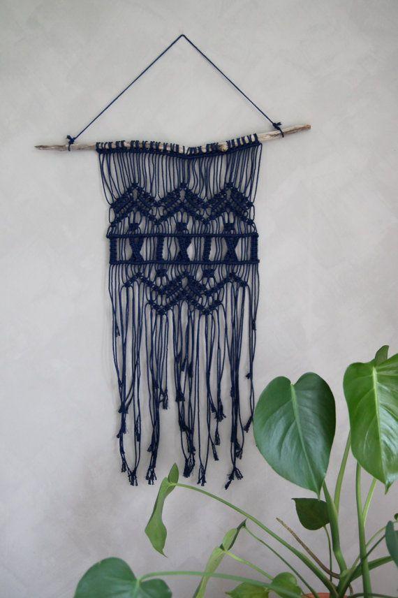 "Macramé Wall Hanging ""Carmel"" - By Helga M. on Etsy / Modern macrame / Boho Macrame / Boho decor / handmade macrame / handmade decor / boho interior"