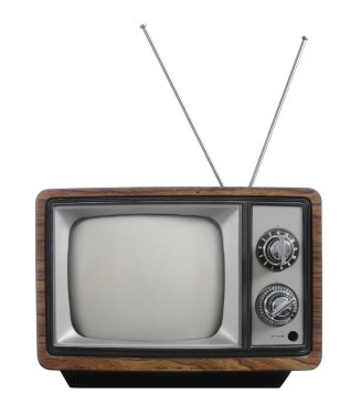 Portable TV set: Vintage Televi, Black And White, Tv Show, Vintage Tv, Ears, Old Tv, Tvs,  Television System, Televi System