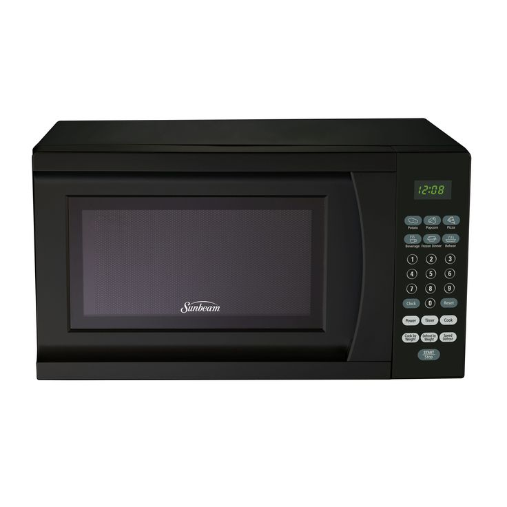 Sunbeam SGS90701B-B Black 0.7-Cubic Foot Microwave Oven (.7 Cubic Foot Microwave), Size Small (Plastic)