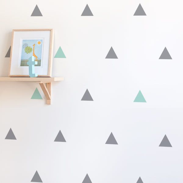 Triangle Wall Stickers More Part 25