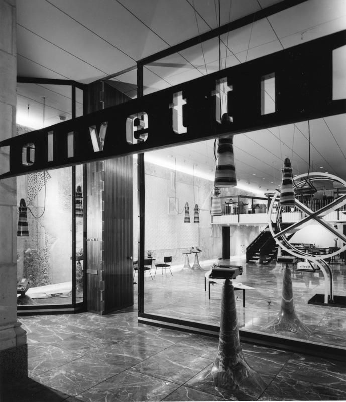 OLIVETTI STORE – FIFTH AVENUE, NEW YORK