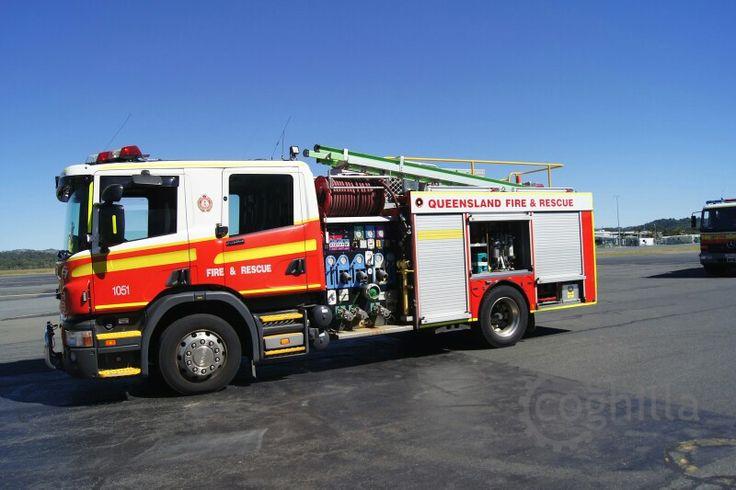 Qld. Fire - & Rescue - Pumper 1051