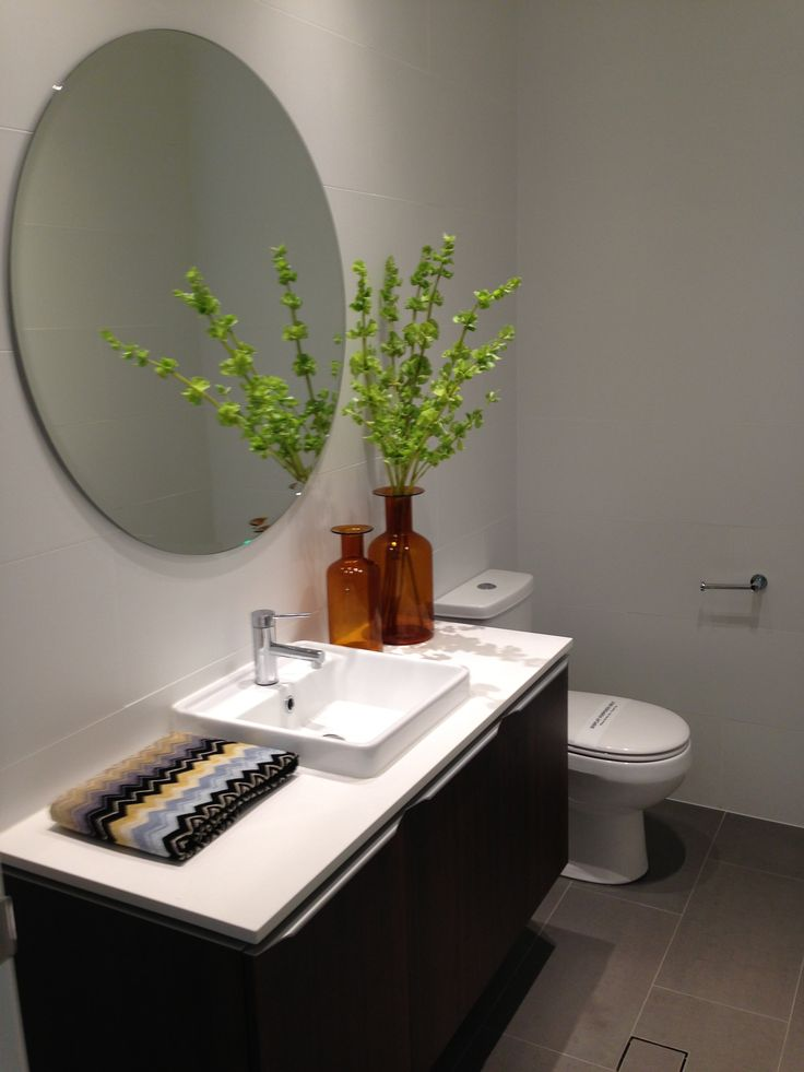 1000 Images About Round Mirrors In Bathrooms On Pinterest