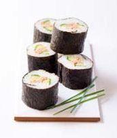 Tuňákovo-okurkové suši