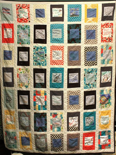 104 best Signature Quilts images on Pinterest | Beautiful, Pattern ... : wedding signature quilt - Adamdwight.com