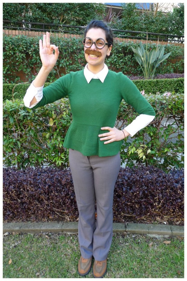 Day 47: International Left Handers Day #NedFlanders #costume. Theme Me is a blog that follows a personal challenge to dress to a different theme everyday for a whole year.