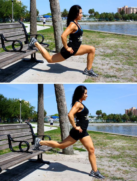Simple exercises you can do outside with little to no equipment from home.