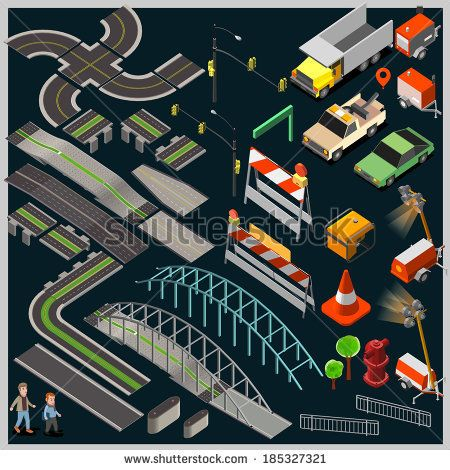 Abstract City Map With Infographic Elements Stock Vector 150677891 : Shutterstock