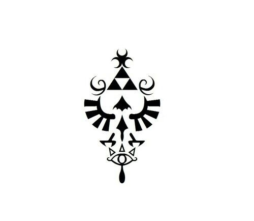 Great idea for a tattoo. Legend of Zelda