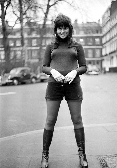 Linda Ronstadt in London, UK, 26 January 1971.