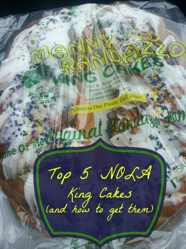 I may have to order her #1, but right now, im sticking with Randazzos!!  Top 5 King Cakes in New Orleans (and how to get them!)