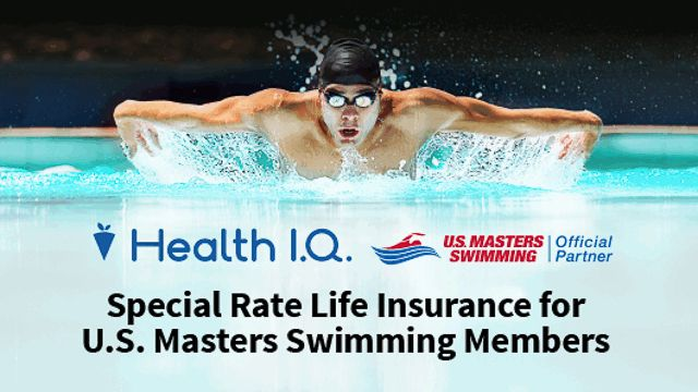 USMS is pleased to announce a unique new USMS membership benefit, special-rate life insurance for swimmers, from our official partner Health IQ. Health IQ works with innovative insurance carriers to offer swimmers special rates on life insurance. As a licensed insurance broker in all 50 states, Health IQ has helped tens of thousands of health-conscious people, including swimmers, secure more than $4 billion in life insurance coverage.