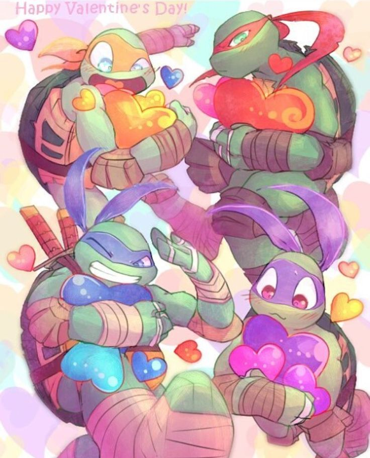 I love these boys TMNT