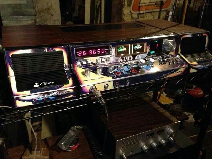 Old School Chrome Cobra 2000 Base Station Badass Cb Radio Cb Radios Citizens Band Radio