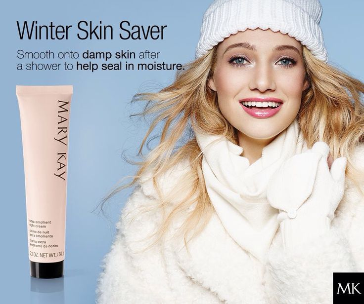 Winter can be especially drying to hands, elbows, and feet! Our Extra Emollient Night Cream is ideal for dry patches.   http://www.marykay.com/brookeramsey/en-US/Body-Sun/Mary-Kay-Extra-Emollient-Night-Cream/100407.partId?eCatId=10001