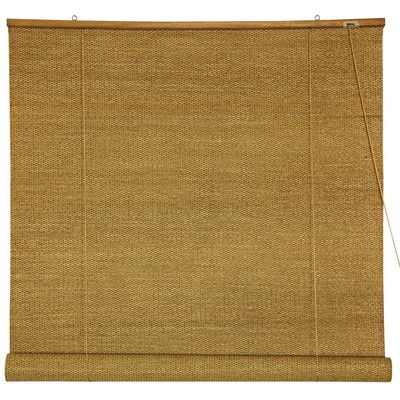 Woven blinds lend texture and another layer to a room.   $47