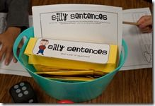 silly sentencesSentence Writing, Silly Sentence, Words Work, Languages Art, Dice Games, Adjectives Activities, Writing Activities, Sentence Center, Grammar Games