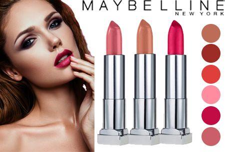 Maybelline Colour Sensational Lipstick - set van 2 stuks | Voor een sensationele uitstraling!