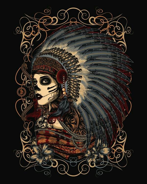 Chief. #art #skulls