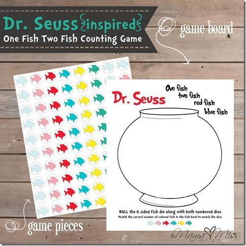 17 best images about dr seuss on pinterest one fish two for Dr seuss one fish two fish