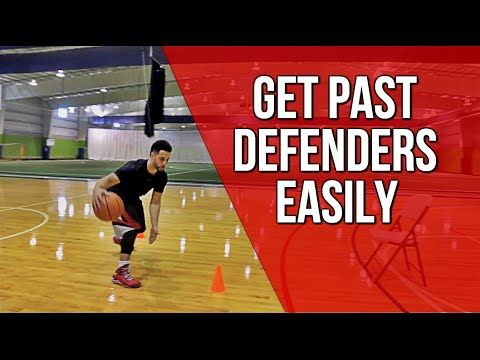 Basketball Moves To Get Past Defenders! - YouTube