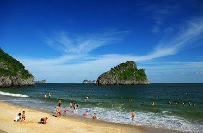 """Ba Lua Archipelago""  - the fascinated Ha Long Bay in the south of Viet Nam  ""Ba Lua Archipelago""  - the fascinated Ha Long Bay in the south of Viet Nam  #Destination #TravelinVietnam"