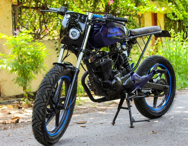 Caferacer Modifiedbikes India Bikes Cafe Racer Custom Cafe