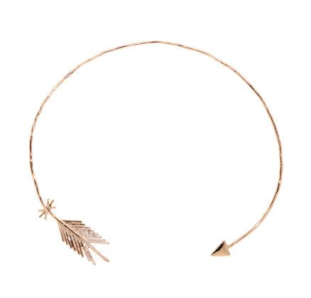 Choked Up - Pascale Monvoisin rose gold plated collar